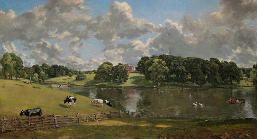 Wivenhoe Park, Essex by John Constable 1816