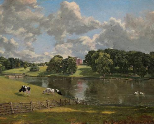 Wivenhoe Park, Essex by John Constable 1816