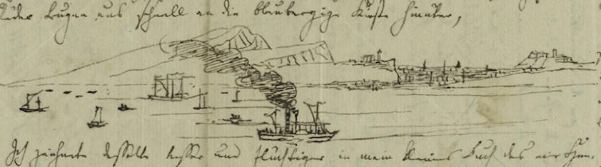 Mendelssohn's sketch