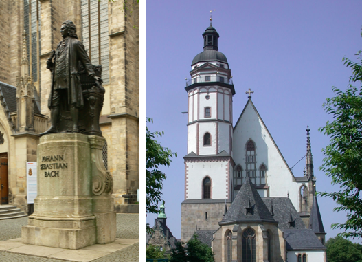 Bach and the Thomaskirche, Leipzig