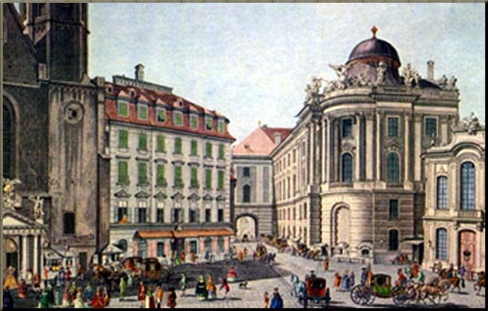 The Burgtheater in 1790