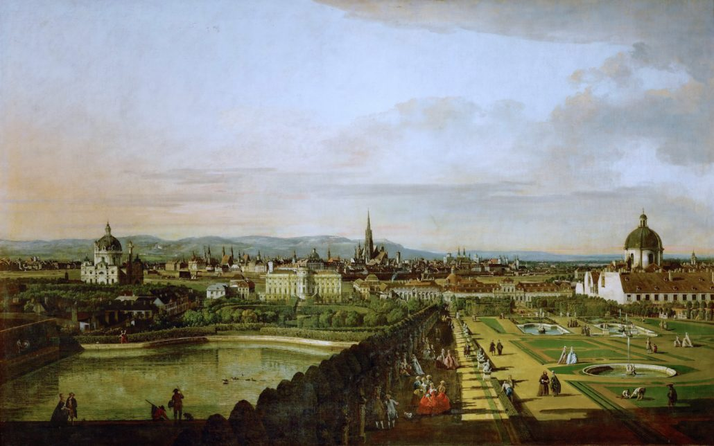 Vienna by Bernardo Bellotto