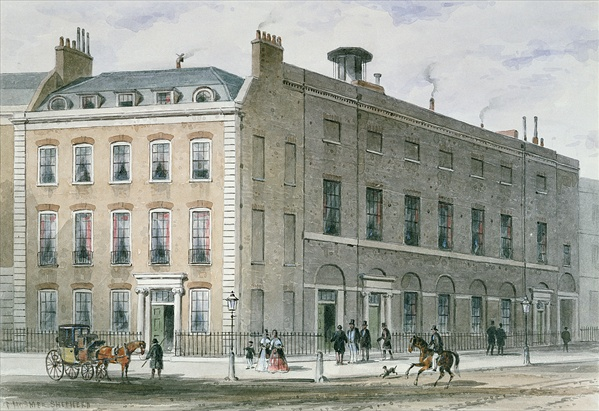 Hanover Square Rooms, principal venue of Haydn's performances in London