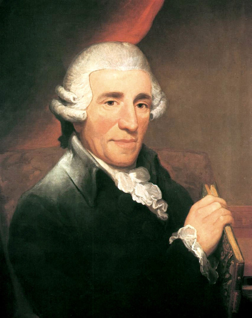 Joseph Haydn by Thomas Hardy 1791