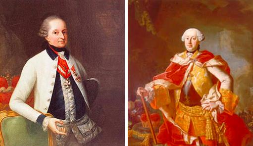 Prince Nikolaus & Prince Anton Esterhàzy
