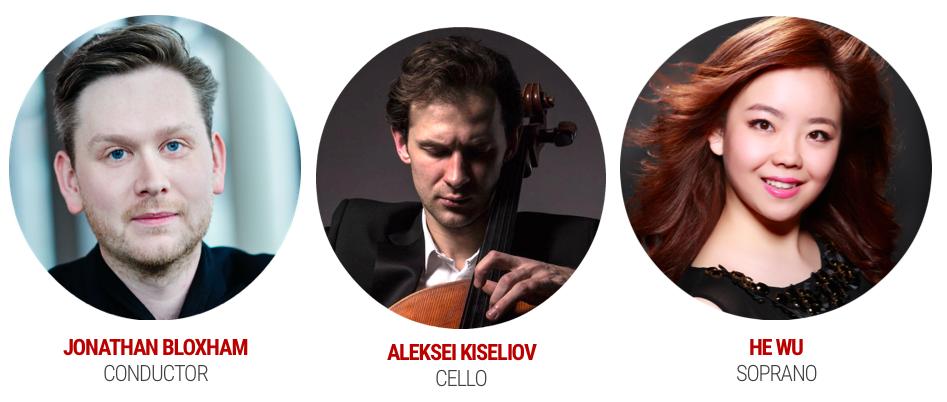 Jonathan Bloxham, Aleksei Kiseliov and He Wu