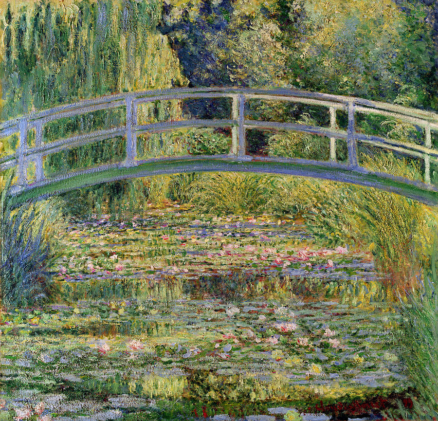 Monet's Bridge over Waterlilies