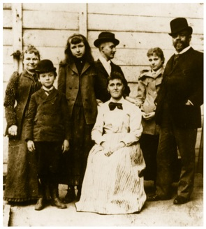 Dvořák and his family