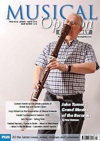 Musical Opinion magazine