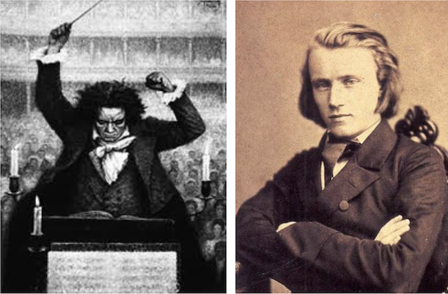 Fiery Beethoven and young Brahms